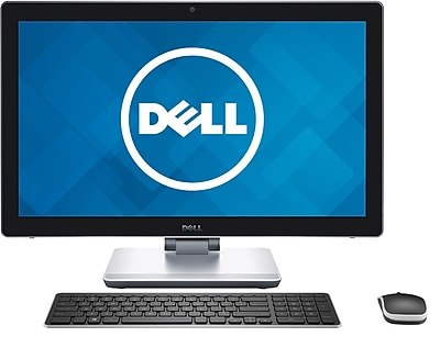 Dell Inspiron i7459-7070BLK 23.8'' Touchscreen All-in-One Desktop PC (Intel Core i7-6700HQ, 16GB RAM, 1TB HDD + 32GB SSD)
