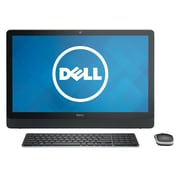"Dell Inspiron io3452-3291BLK 23.8"" All-In-One Desktop (Intel Pentium N3700, 4GB RAM, 500GB Hard Drive, Windows 10, Black)"