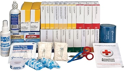 First Aid Only™ 2 Shelf First Aid Station Refill with Medications, ANSI B+, 446 Pieces (90618)