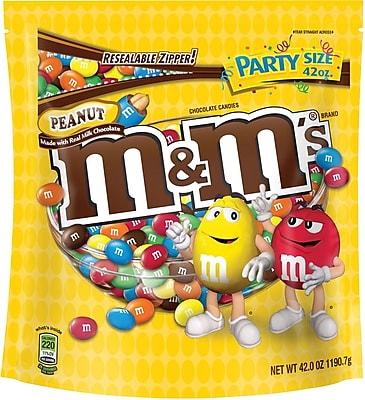 M&M's® Peanut Candy, 42 oz. Bag