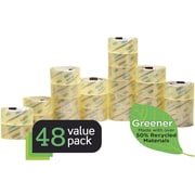 "Scotch® Greener Commercial Grade Shipping Packing Tape, 1.88"" x 54.6 yd, 48/CT"