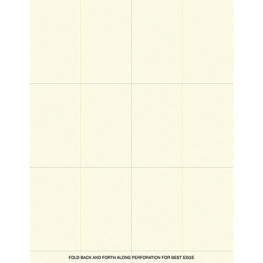 Shop Staples For Great Papers! Ivory Place Cards 10 Sheets