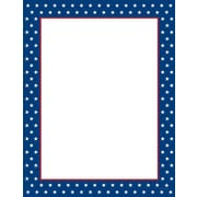 "Great Papers! American Stars Letterhead    8.5"" x 11""  80 count (2013035)"