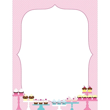 Great Papers! Whipped Cupcakes Letterhead 8.5
