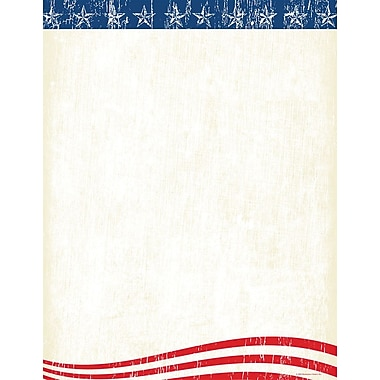 Great Papers! Faded Glory Letterhead 8.5