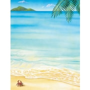 """Great Papers! Tropical Letterhead   8.5"""" x 11""""  80 count (2014233)"""
