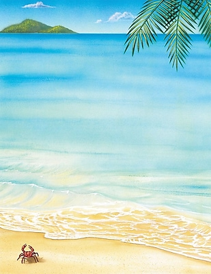 Great Papers! Tropical Letterhead 8.5