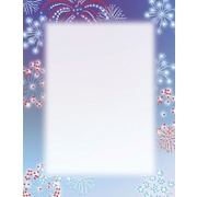 "Great Papers! Patriotic Stars Letterhead   8.5"" x 11""  80 count (2014284)"