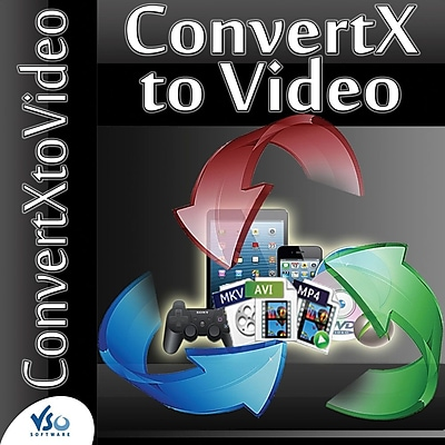 VSO Software ConvertXtoVideo for Windows (1-1000 Users) [Download] 2313067