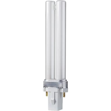 Philips 7W Compact Fluorescent PL-S Light Bulb, 10/Pack (148718)