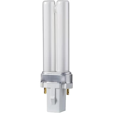 Philips 5W Compact Fluorescent PL-S Light Bulb, 10/Pack (146712)