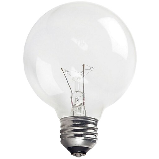 Philips 40W Incandescent Light Bulb, G25, 12/Pack (167478CT)