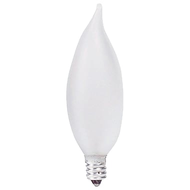 Philips Incandescent Frosted Light Bulb, BA9, 25 Watts, 12PK