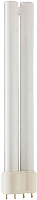 Philips Compact Fluorescent PL-L Lamp, 18 Watts, 4-Pin, Cool White, 25PK