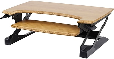 ErgotronHome Workspace™ Lift35 Premium Bamboo Adjustable Standing Desk