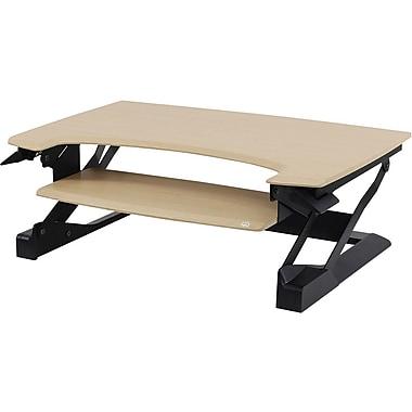 workspace lift35 birch adjustable standing desk