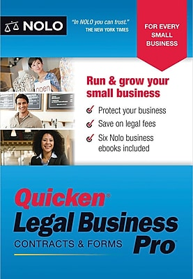 Nolo Quicken Legal Business Pro for Windows (1 User) [Download]