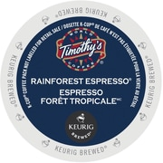 Timothy's World Coffee® Rainforest Espresso® K-Cup® Pods, 24/Bx