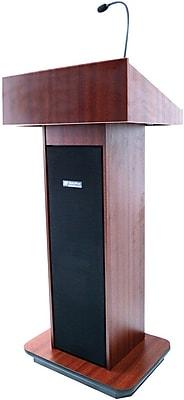 AmpliVox Sound Systems Executive Sound Lectern, Mahogany (SW505-MH)
