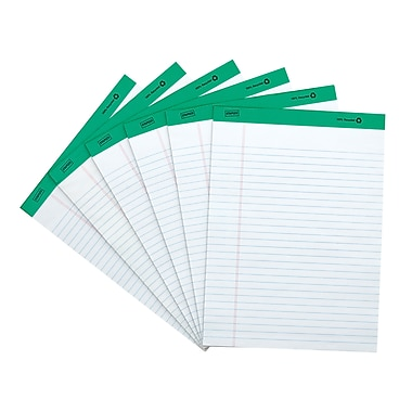 Staples 100% Recycled, White, 8-1/2