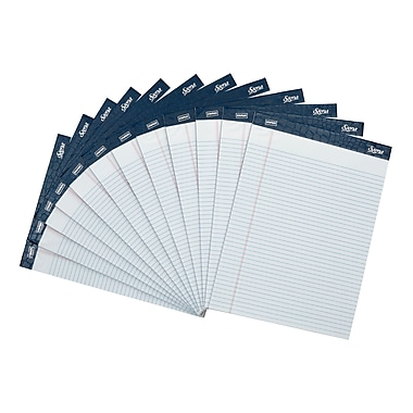 Staples Signa Notepads, 8.5' x 11.75