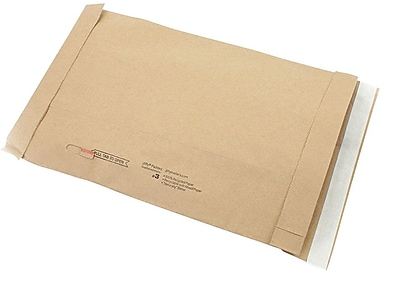 Self-Seal Padded Mailers, #3, 8-3/8