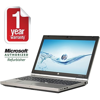 Refurbished HP 15.6in Elitebook 8570P Core i7 2.7Ghz Quad Core 8GB RAM 750GB Hard Drive Windows 10 Pro