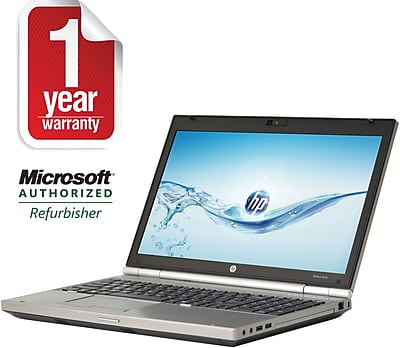 Refurbished HP 15.6in EliteBook 8570P Core i7 2.7Ghz Quad Core 8GB RAM 750GB Hard Drive Windows 10 Pro