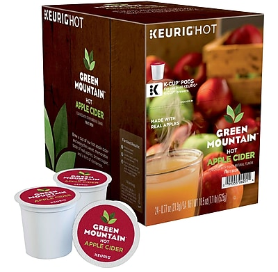 Keurig® K-Cup® Green Mountain Naturals® Hot Apple Cider, 24 Count