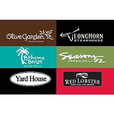 Darden Gift Card $100 (Email Delivery)