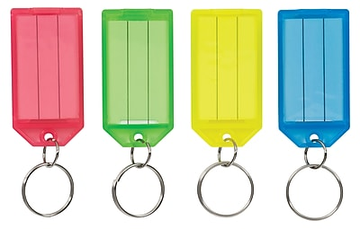 Color-Coded Key Tags 4pk