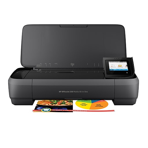 HP OfficeJet 250 Color Inkjet All-In-One Printer (CZ992A)