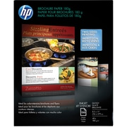"HP Professional Inkjet Brochure Paper 08 1/2"" x 11"" Glossy finish 150/Pack (Q1987A)"
