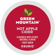 Green Mountain® Hot Apple Cider, Keurig® K-Cup® Pods, 24/Box (6201)