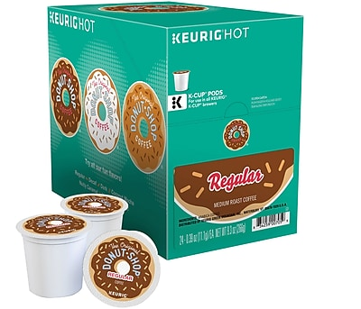 Donut Shop® K-Cup® Packs, 24/Box
