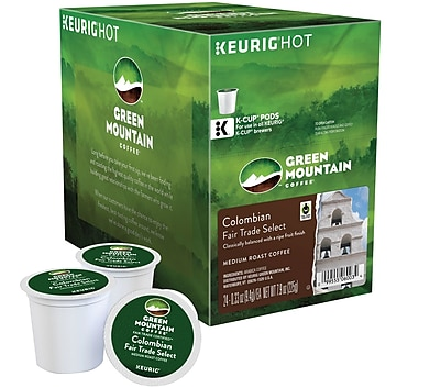 Keurig® K-Cup® Green Mountain Coffee® Colombian Fair Trade Select Coffee, 24 Count