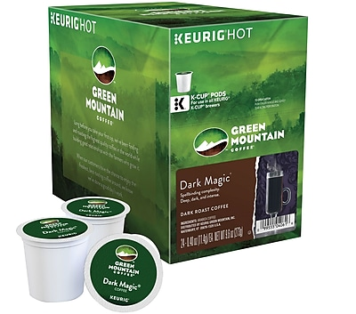 Keurig K-Cup Green Mountain Dark Magic Extra Bold Coffee, Regular, 24 Pack 707198