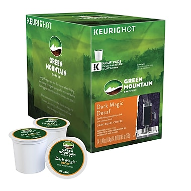 Keurig® K-Cup® Green Mountain® Dark Magic® Extra Bold Decaf Coffee, Decaffeinated, 24 Pack