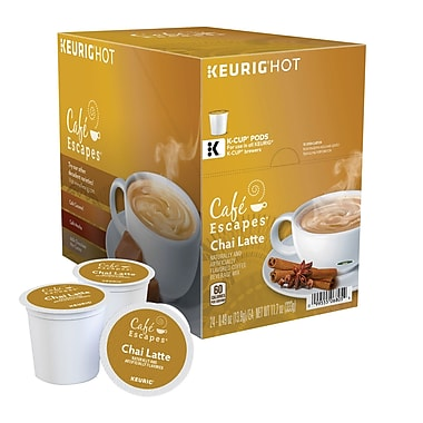 Keurig® K-Cup® Cafe Escapes® Chai Latte, 24 Pack