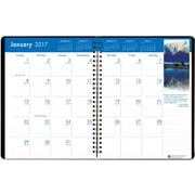 2017 House of Doolittle 8.5 x 11  Monthly Planner Earthscapes Full Color Photos (264-02)