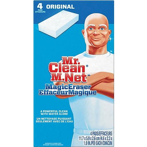 Mr Clean 174 Magic Eraser 4 Pack Staples