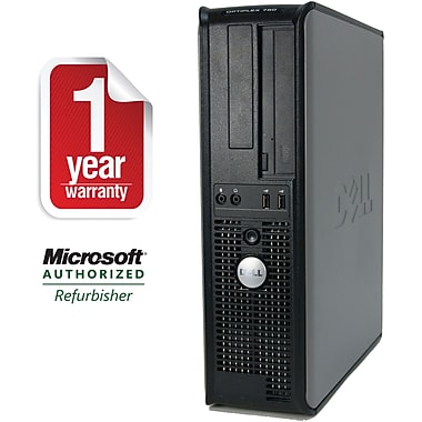 Refurbished Dell 780 Desktop Core 2 Duo 3.0Ghz 4GB RAM 1TB HDD Windows 10 Pro
