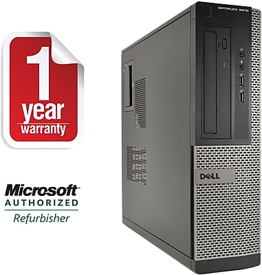 Refurbished Dell 3010 Desktop Core i3 3.3Ghz 4GB RAM 250GB HDD Windows 10 Home