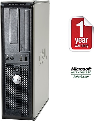 Refurbished Dell 380 Desktop Core 2 Duo 2.93Ghz 4GB RAM 1TB HDD Windows 10 Pro