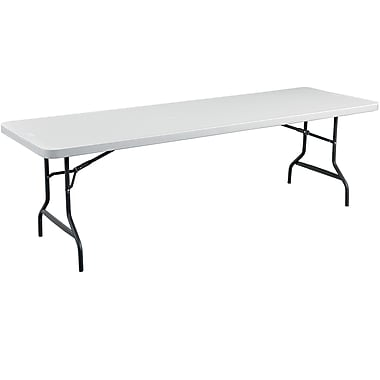 Staples® 8' Folding Table