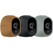 NETGEAR Arlo Skins - Brown, Black, Grey Skins - Designed for Arlo Wire-Free Cameras (VMA1200D)