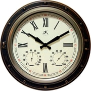 "Infinity Instruments 16""  Wall Clock, The Forecaster"