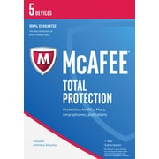 McAfee Total Protection 2017 - 5 Devices [Download]