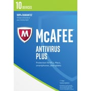 McAfee AntiVirus Plus 2017 - 10 Devices [Download]
