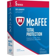 McAfee Total Protection 2017 - 5 Devices [Boxed]